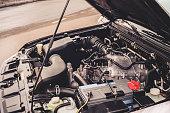 automobile motor