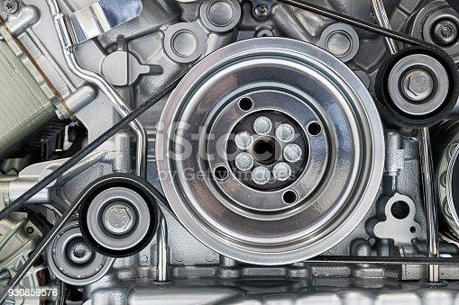 841283930 istock photo Car engine 930859576