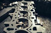 istock Car engine repair 1131189022