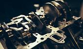 istock Car engine repair 1140871755