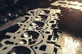 istock Car engine repair 1141778382