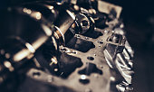 istock Car engine repair 1141778434