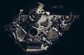 istock Car engine repair 1141778456
