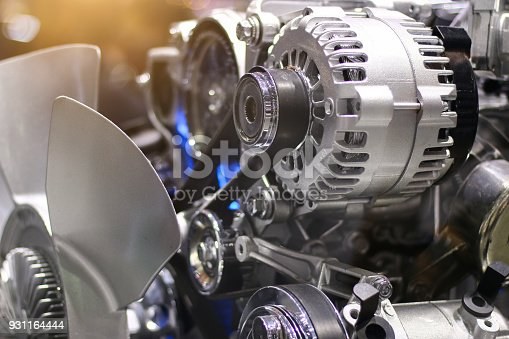 istock car engine.close up 931164444