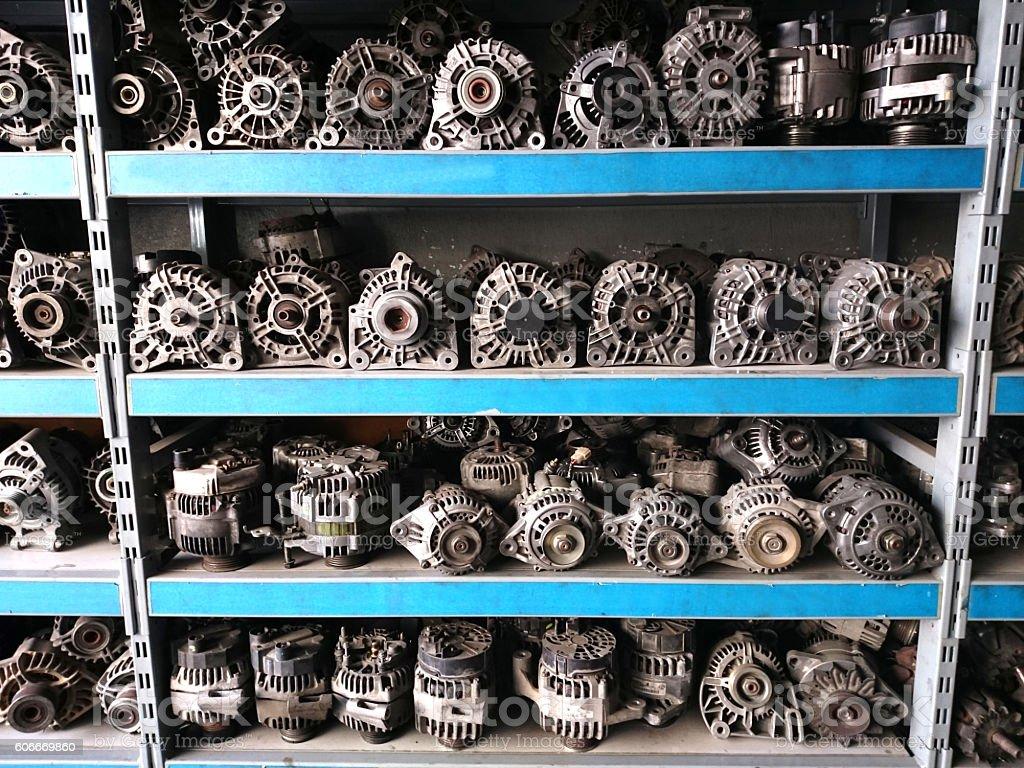 Auto-Motoren – Foto
