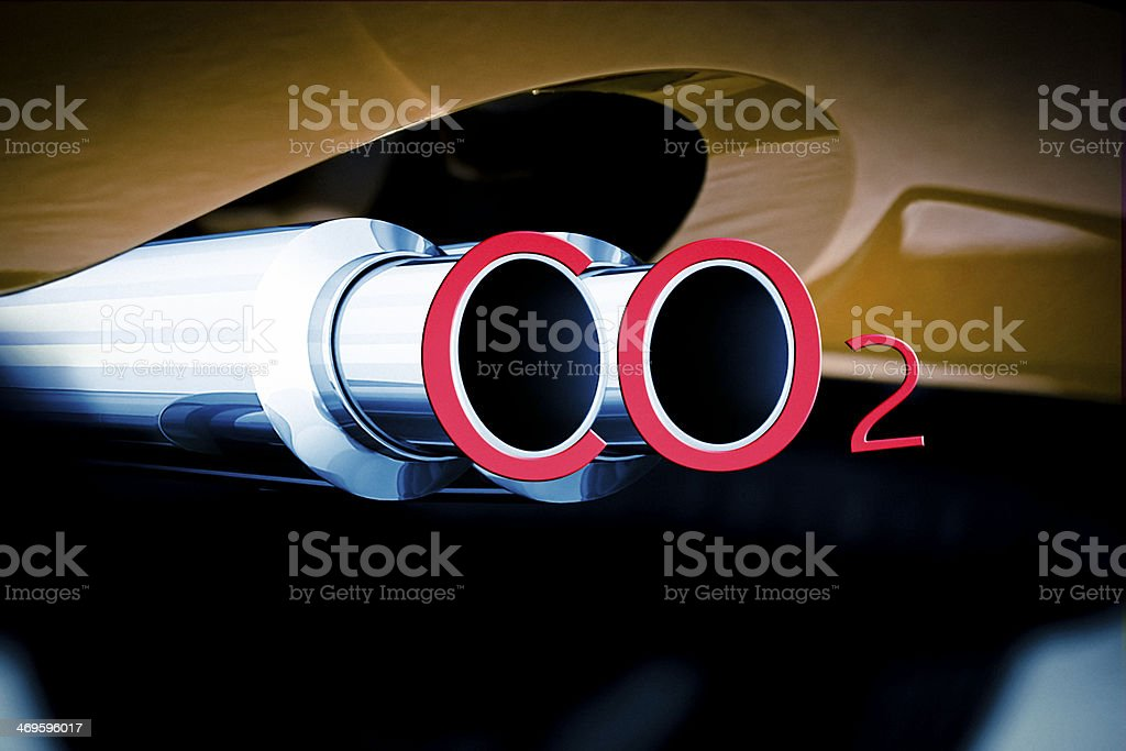 Car Exhaust Pipe Co2 Stock Photo Download Image Now Istock