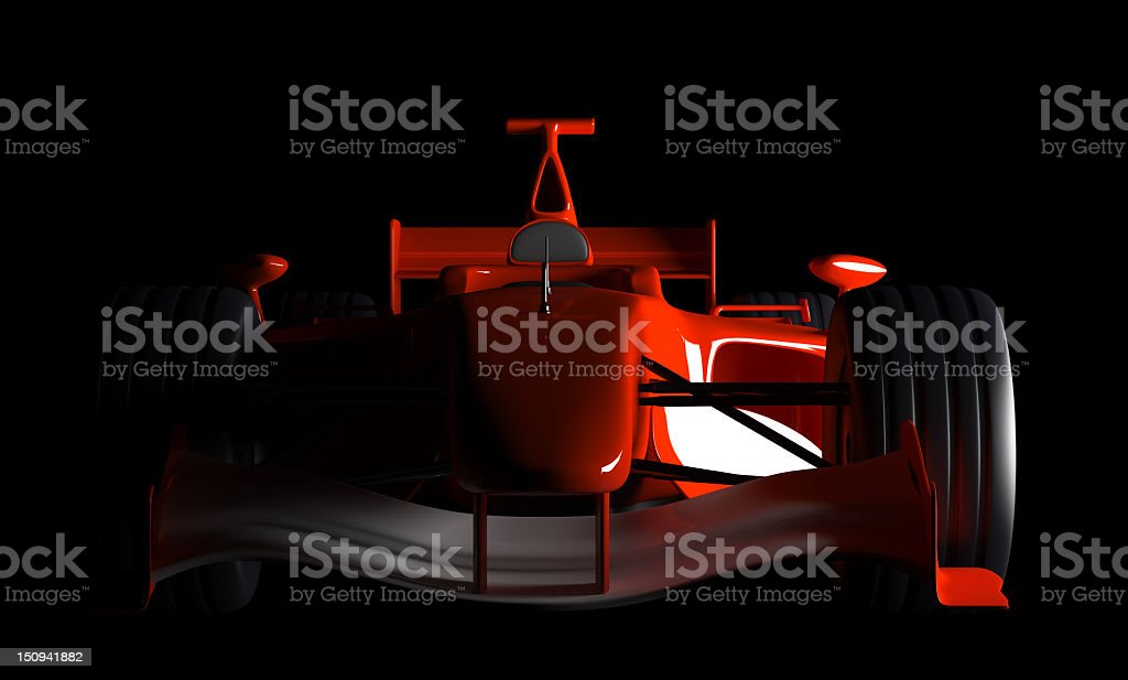 Car F1 stock photo