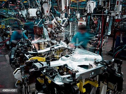 istock Car Factory 496944551