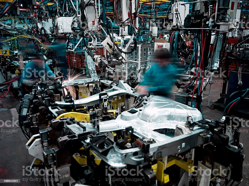 Car Factory stock photo