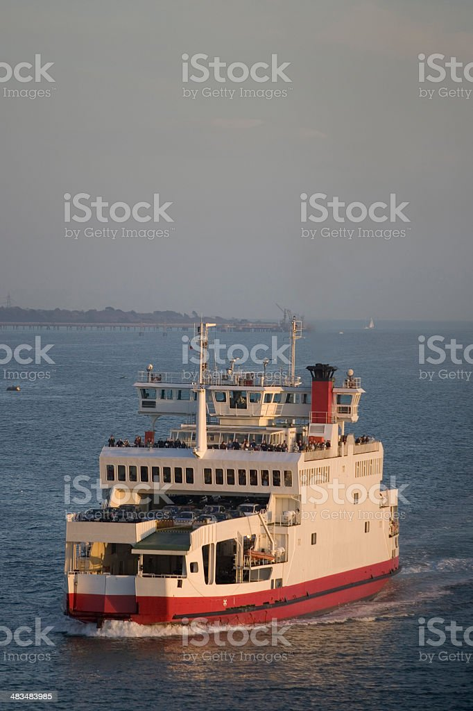 Car Ferry royalty-free stock photo
