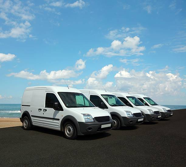 auto-flotte - motionless in white stock-fotos und bilder