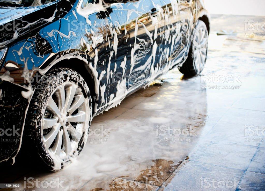 Car & espuma - foto de stock