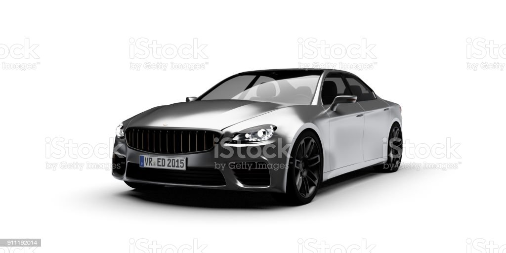 Car Front View Stock Photo More Pictures Of Black Color Istock