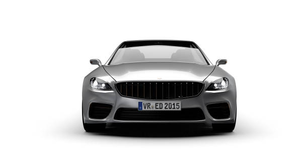 car front view - foto stock