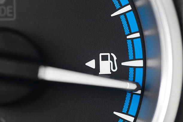 Niedriger Treibstoff – Foto