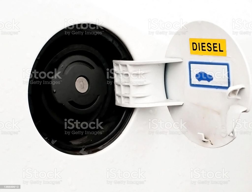 car fuel tank royalty-free stock photo