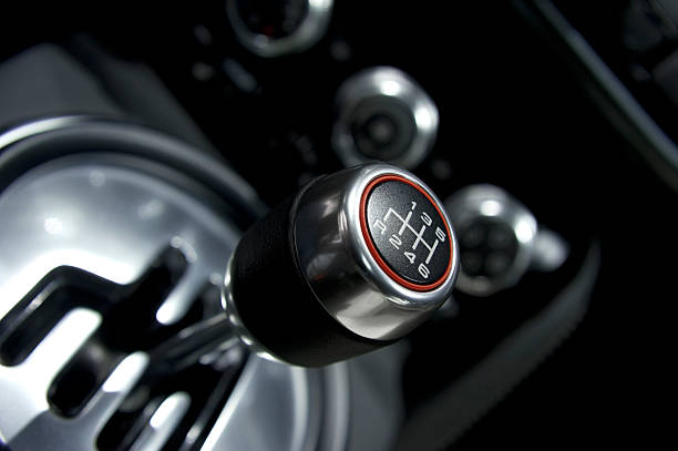 Car Gear Shift Six speed manual gear shift. gearshift stock pictures, royalty-free photos & images