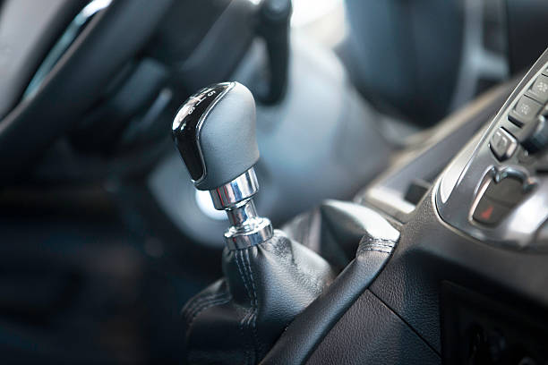 Car Gear Shift stock photo