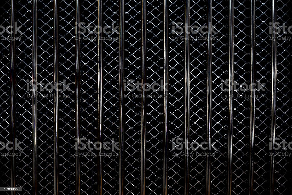 Car Grill Pattern royalty-free stock photo