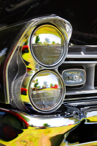 Car head light stock photo