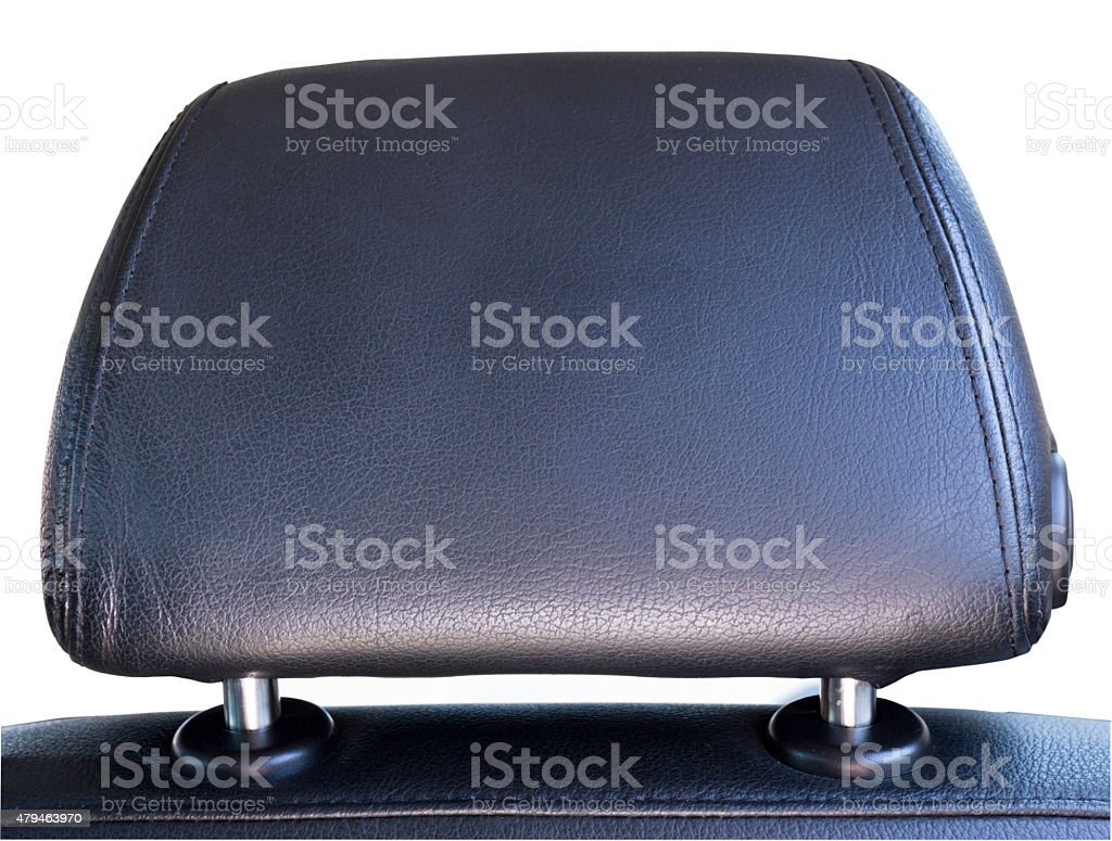 Car Head Rest stock photo