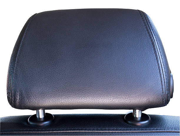 auto head rest - kopfstütze stock-fotos und bilder
