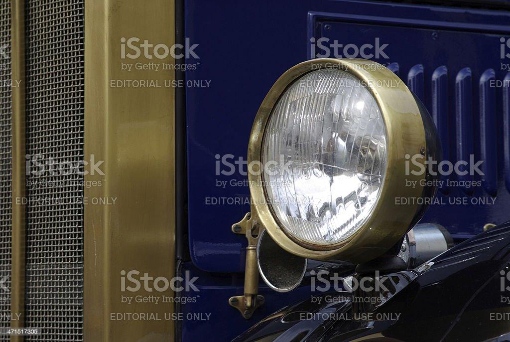 Car headlight royalty-free stock photo