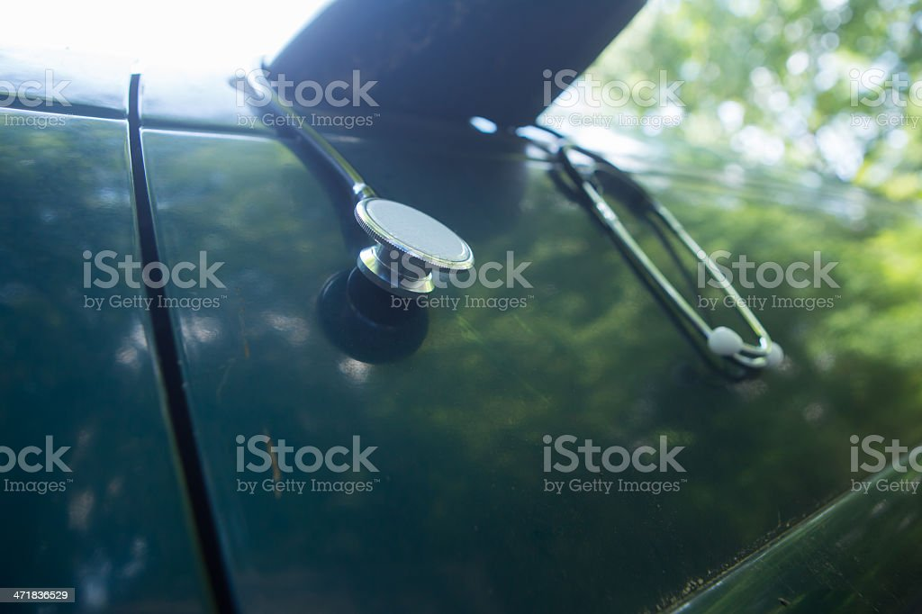 Car Health royalty-free stock photo
