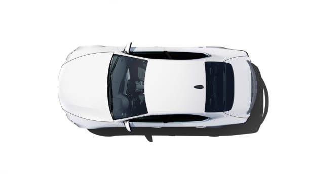car in a studio grey generic sports sedan, isolated on white background,  3D, car of my own design. land vehicle stock pictures, royalty-free photos & images