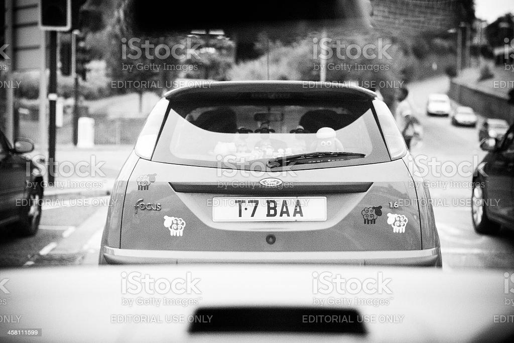 Auto auf der Vorderseite – Foto