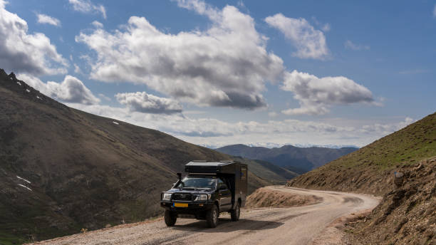 Auto in Pontic Mountains​​​ foto