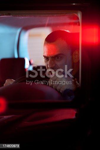 584585910istockphoto car in pursuit 174820973