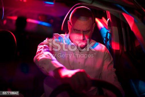 584585910istockphoto Car in pursuit 537718642