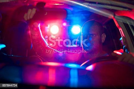 584585910istockphoto Car in pursuit 537844724