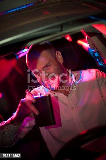 584585910istockphoto Car in pursuit 537844852
