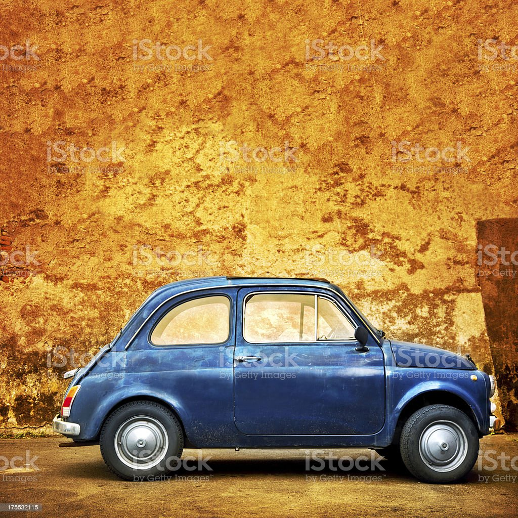 Car in Rome royalty-free stock photo
