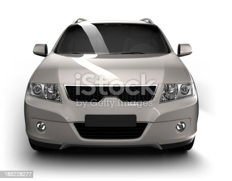 istock SUV Car in studio - isolated / clipping path 185228277