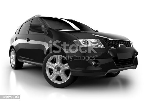 istock SUV Car in studio - isolated with clipping path 185256254