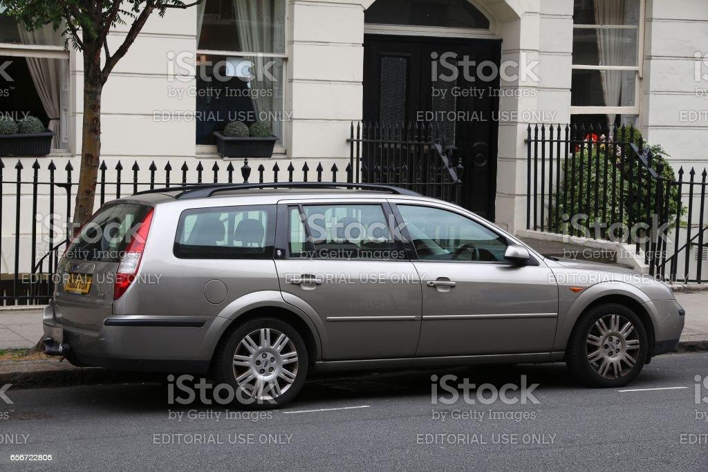 Car in the UK stock photo
