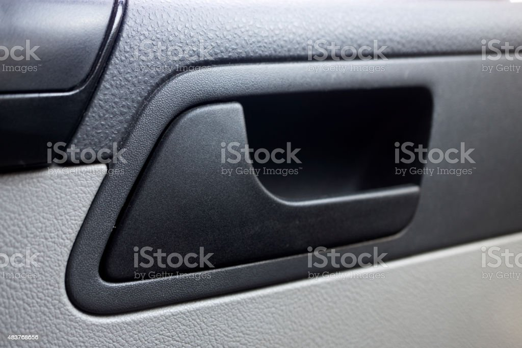 Car Indoor Handle stock photo