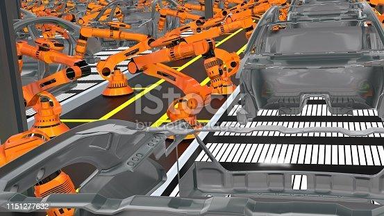 1069360792istockphoto Car Industry 1151277632