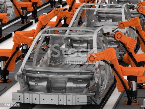 182463664 istock photo Car Industry 168817093