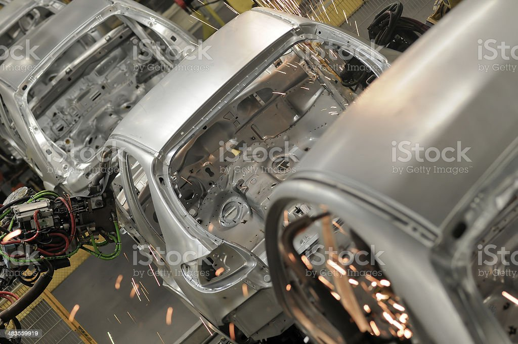 car industry stock photo