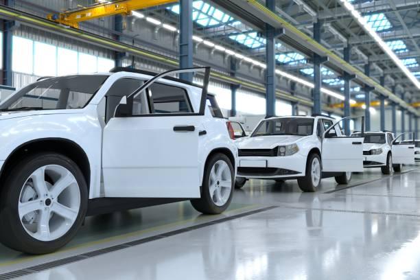 Car IndustryСрок stock photo