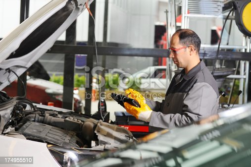 1073743202 istock photo Car Inspection Service 174955510