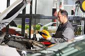 istock Car Inspection Service 174955510