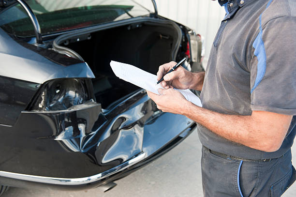 car inspections - dent stock pictures, royalty-free photos & images