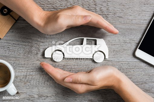 istock Car insurance concept 856956280