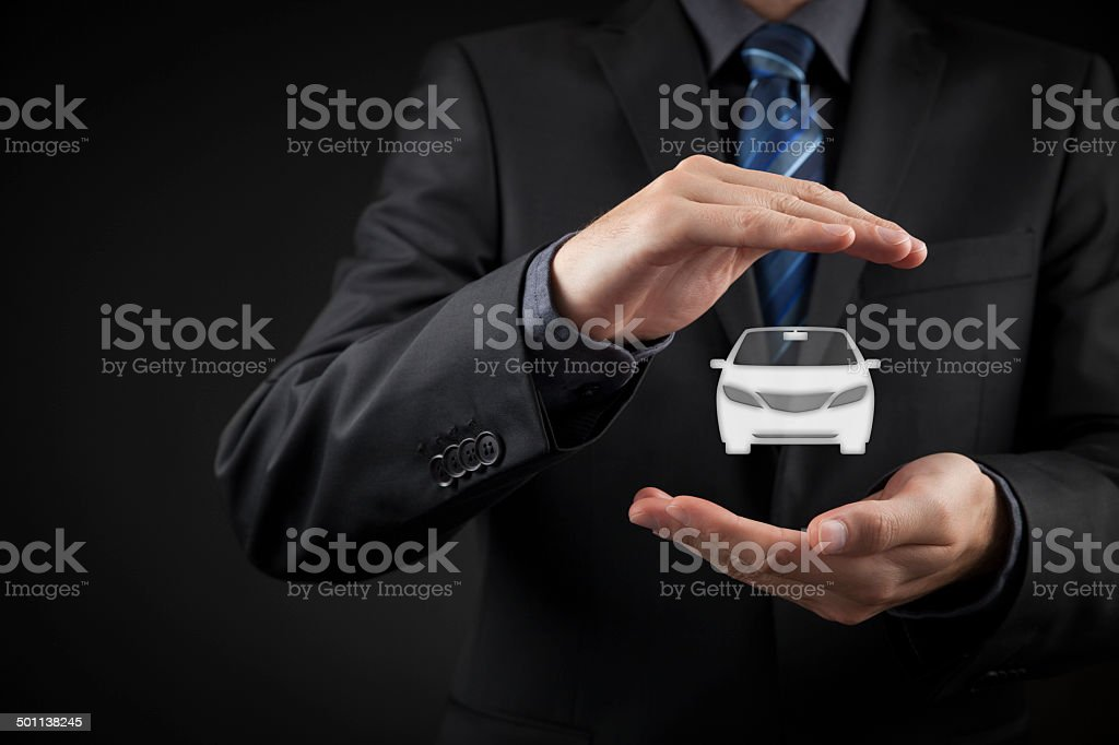 Car insurance stock photo