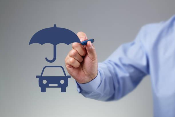 försäkring bil - krockad bil bildbanksfoton och bilder